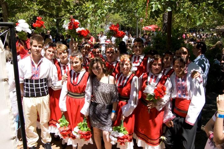 Primer encuentro de los búlgaros en Madrid