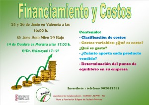 financiamiento y costos